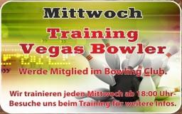 Mittwoch's Training Vegas Bowler